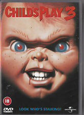 CHILDS PLAY 3 DVD KILLER DOLL HORROR RATED 18