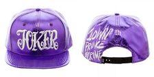 Suicide Squad Joker Clown Prince DC Comics Faux Leather Croc Snap Back Hat Nwt
