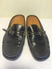 Women's Cole Haan Country Slip On Loafer US 8 B Black Leather Casual Dress Shoes
