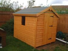 "WOODEN GARDEN SHED 6X4 13MM T/G 2X2 CLS FRAMING 1"" THICK FLOOR"