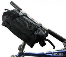 "New Cycling bicycle Folding Bike Carrier Bag Carry Bag 14""-20"" + Poucher Black"