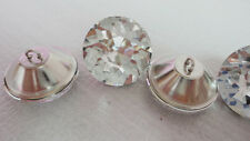 10pcs x 30mm Diamante/Diamond/Crystal Clear Upholstery Headboard Buttons