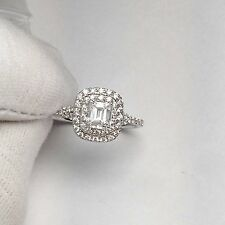 18ct White Gold Natural Untreated White Diamond Engagement Ring £5900