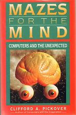 MAZES FOR THE MIND/Pickover/Computer Programs/Math/Graphics/New/Free Shipping