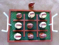 RUSS BERRIE * FOOTBALL * TIC TAC TOE GAME *  OLDE TIME SPORTS * NEW