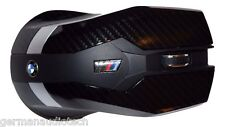 Genuine BMW ///M CARBON FIBER WIRELESS LASER OPTICAL MOUSE PC MAC APPLE COMPUTER
