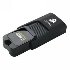 Corsair 128GB Flash Voyager Slider X1 USB 3.0  USB Drive Memory Stick Pen - 130M