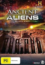 ANCIENT ALIENS : SEASON 8  -  DVD - UK Compatible