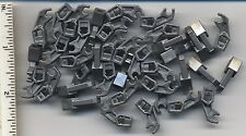 LEGO x 40 Flat Silver Arm Mechanical, Exo-Force Bionicle, Thick Support