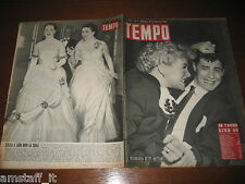RIVISTA TEMPO 1951/1=BETTY HUTTON=JERRY LEWIS?=OTELLO AL SAVINI=