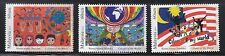 MALAYSIA 2013 COLOURS OF MY WORLD (CHILDREN PAINTINGS) COMP. SET OF 3 STAMPS MNH