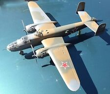 Monogram: Built 1/48th  B-25J - Lend Lease to Russia     / MS-23