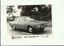 "British Leyland ROVER 3500 PRESS PHOTO ""vendite opuscolo"" connesso"