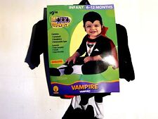 Boy Child 6-12 months Classic Vampire Costume Halloween Trick or Treat