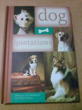 HALLMARK BOOK DOG QUOTATIONS BY HELEN EXLEY