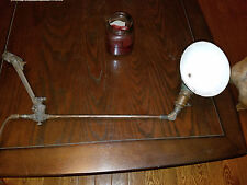 Vintage O.C. White Industrial Lamp Light Articulated PAT Sept 26 1893