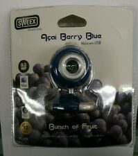 Sweex Açai Berry Blue Webcam