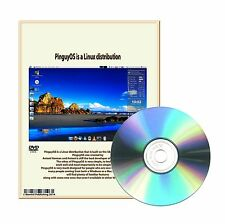 2014 Linux Pinguy 64-Bit Operating System to replace Windows Vista XP 7 DVDROM