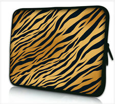 "17-17,3"" LAPTOP SLEEVE CARRY CASE BAG 4 ALL LAPTOPS, FREE POST *PANTHER STRIPES*"