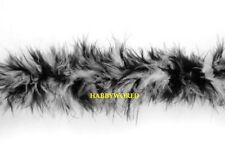 10 Metres Marabou String Feather Boa Swansdown Trimming Trim Many Colour