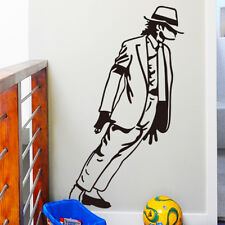 Black Michael Jackson Dancing vinyl Art Wall Sticker Home Decor Decal Mural