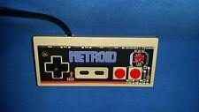 Metroid - Nintendo NES Controller Pad Overlay- Vinyl Sticker