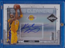 2009 PANINI LIMITED KOBE BRYANT GLASS CLEANERS AUTOGRAPH SP LOS ANGELES LAKERS