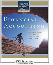 Financial Accounting Tools for Business Decision Making, kimmel, weygandt, kieso