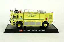 Oshkosh ARFF - 2003 US Fire Truck Diecast Model 1:72 No 40