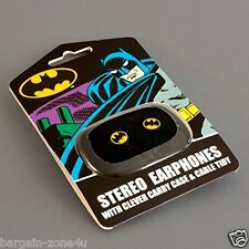 Batman Stereo Earphones Earpods Kids Headset Phone Speakers Headphones
