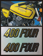 Adesivo Fiancatine  Honda Four 400 gialla - adesivi/adhesives/stickers/decal