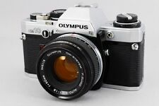 EXC+++++ Olympus OM-10 35mm SLR Film Camera with 50mm F/1.8 from JAPAN 747