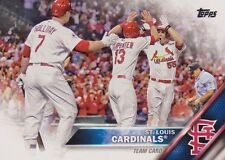 St Louis Cardinals 2016 Topps Series 1 and 2 Team Set 21 Cards Molina Wacha plus