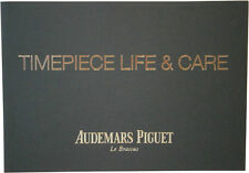 Audemars Piguet Le Brassus Watch Instructions Booklet Manual Guide