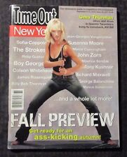 2003 TIME OUT NEW YORK Magazine #414 FN- 5.5 Uma Thurman - Kill Bill
