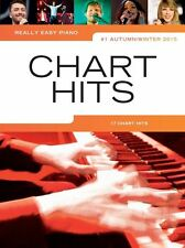 Really Easy Piano Chart Hits 2015 POP Rock Sam Smith Hozier Beginner Music Book