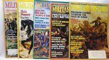 MILITARY HISTORY MAGAZINE-LOT OF 5 ISSUES-'86-'91-'94-'98-'02 LOST BATTALION WWI
