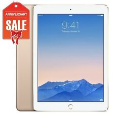 Apple iPad Air 2 128GB, Wi-Fi + Cellular (Unlocked), 9.7in - Gold (R-D)