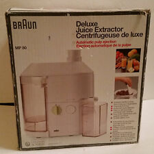 Braun Deluxe Juice Extractor Model MP 80 EXCELLENT USED CONDITION