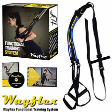 Wayflex Functional Training Kit Suspension Trainer Resistance Bands