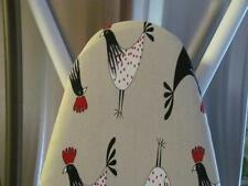 Handmade Custom Ironing Board Cover French Country Roosters & Ticking