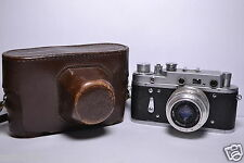 ZORKI 2C Soviet/Russian 35mm Rangefinder Camera, Industar-50 (3.5/50)