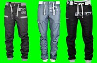 Boys ENZO Cuffed Ankle Denim Jeans New Joggers Coated Sale Waist Size 24 - 29