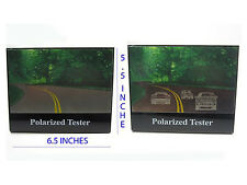 Polarized Sunglasses Tester , It Test Your Sunglasses Polarized Lens 2 Cars