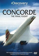 Concorde - The Final Flight (New DVD) Aviation Aircraft Civil BA Airliner Planes
