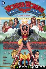 WONDER WOMAN BY GEORGE PEREZ OMNIBUS HARDCOVER New Hardback *640 Pages*