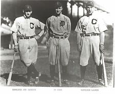 TY COBB NAPOLEON LAJOIE JOE JACKSON 8X10 PHOTO DETROIT TIGERS BASEBALL PICTURE