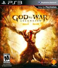 GOD OF WAR ASCENSION PS3 NEW! KRATOS PREQUEL, FREEDOM, COMBAT BATTLE