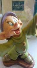 "WDCC Snow White And the Seven Dwarfs Dopey ""Dopey"" MIB w/COA"