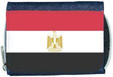 Egypt Flag Denim Wallet